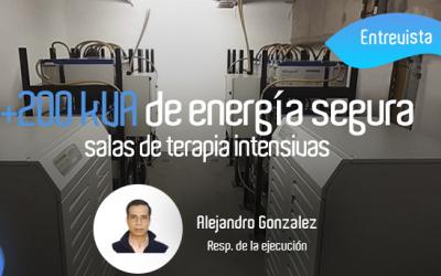 EnergíaDesdeCero – Entrevistamos a Alejandro Gonzalez, Responsable de la ejecución de la obra de más de 200 kVA de UPS Industriales.