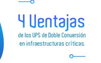 Conocé las 4 Ventajas de los UPS Industriales On Line de Doble Conversión.